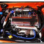 Crome Enjin Mitsubishi 4G93T GSR Turbo 1800cc