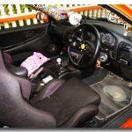 Dashboard Mitsubishi dengan steering MOMO Race