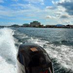 Perjalanan Menaiki Bot Laju Melihat Ternakan Rumpai Laut Sabah