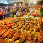 Ikan Bakar Di Pasar Filipina Kota Kinabalu