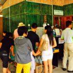Kaunter Masuk Ke Pusat Konservasi Ikan Kelah Atau Tagal Kampung Luanti Ranau