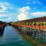 Pemandangan Pusat Pelancongan Lautan Semporna