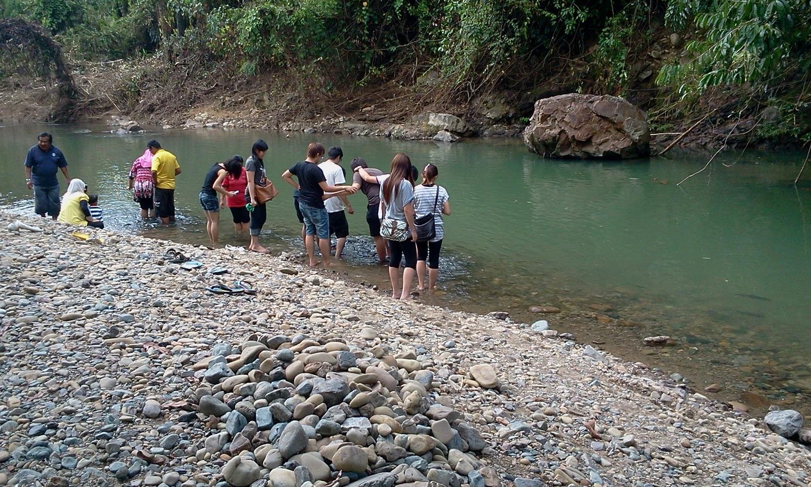 Pemandangan Kawasan Tagal Di Ranau Sabah