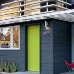 Cat Rumah Warna Biru Hijau