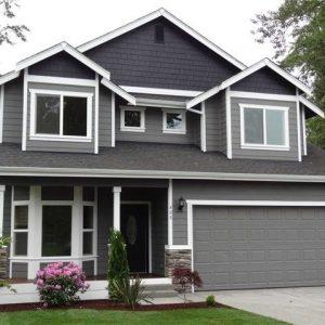 Cat Luar Rumah Warna Kelabu Desainrumahid Com