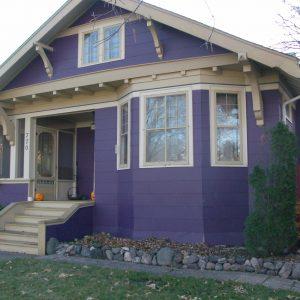 Rumah Cat Purple Ungu