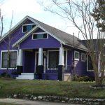 Rumah Kecil Warna Ungu Purple