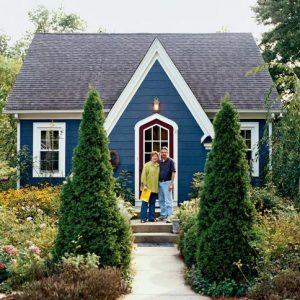 Rumah Warna Biru
