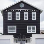 Rumah Warna Hitam Putih