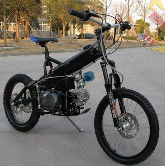 Custom bicycle with Lifan engine