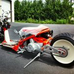 Custom bike with Lifan engine