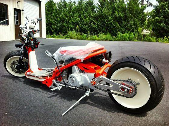 Custom bike with Lifan engine