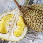 Durian isi kuning yang lazat