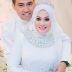 Gambar perkahwinan Hazlin Hussain bersama suami Mior Abdul Malek Raiyani