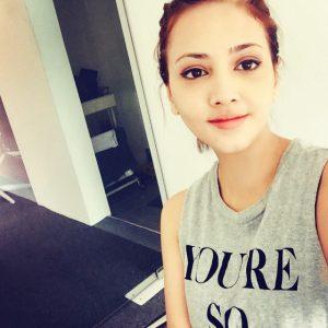 Gambar selfie Fathia Latiff