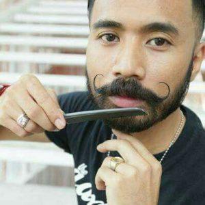 Gaya misai Wak Doyok