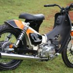 Honda streetcub with Lifan engine