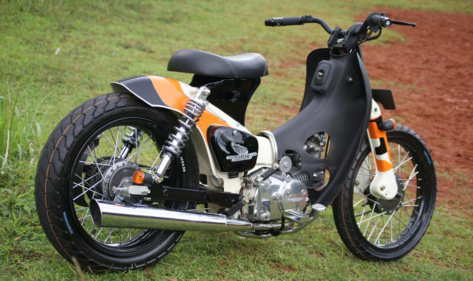 Honda streetcub with Lifan engine