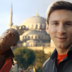 Messi selfie photo