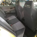 Mitsubishi Lancer GSR Evolution III Recaro seat back