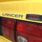 Mitsubishi Lancer GSR Evolution III original badge E3