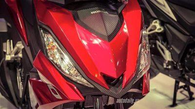 Paparan signal Honda RS150R