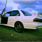Proton Wira 2005 modified Evo (sisi)