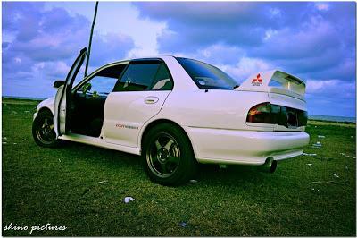Proton Wira 2005 modified Evo (sisi)