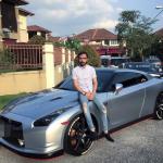 Wak Doyok dengan Nissan Skyline R35 miliknya