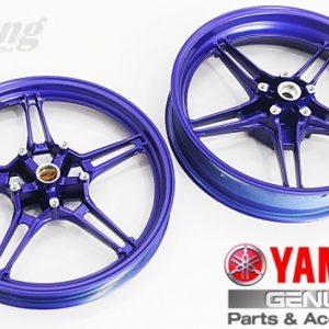 Yamaha Y15ZR Movistar Sport rim.
