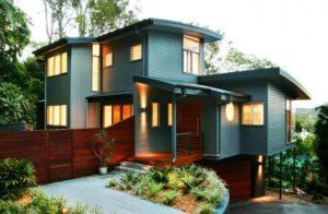 Rumah corak kampung moden