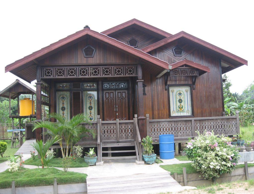 Plan Rumah Kayu Kampung Design Rumah Terkini