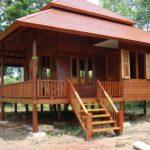 Rumah kayu simple