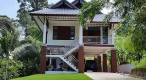 Rekabentuk Rumah Kampung Menarik Encikshino Com
