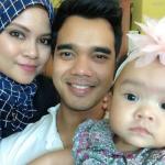 Alif Satar Dengan Isteri Dan Anak