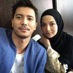 Fattah Amin mesra bersama Neelofa.