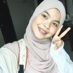 Gambar selfie comel Wani.