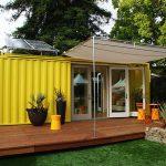 Idea rumah kabin dengan gaya santai.