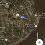 Lokasi kedai Hijau dengan Tak Bai check point melalui Google Map.