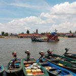 Pemandangan sempadan Malaysia-Thailand dari Tak Bai