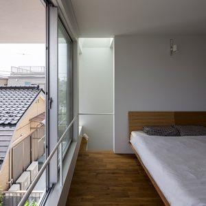 Ruang bilik tidur serba ringkas