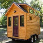 Rumah mudah alih bersaiz kecil.