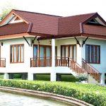 Rumah style resort 4 bilik tidur.