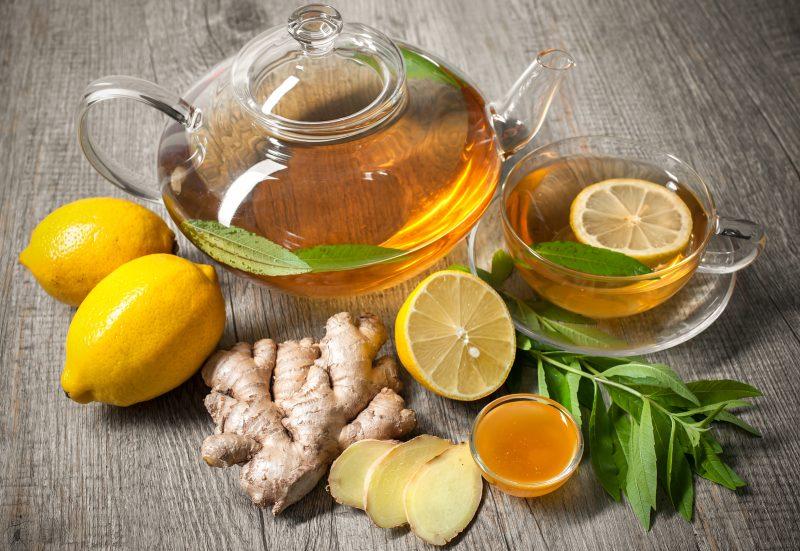 Teh halia lemon madu plus