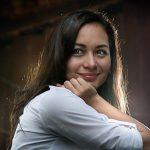 Wajah cantik Maya Karin, artis kacukan Melayu Jerman.