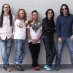 Zamani bersama anggota kumpulan Slam 2016