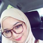 Farah Farhanah Selfie Dalam Kereta