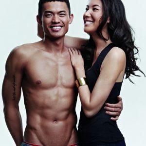 Gambar Cantik Lin Dan Dan Isteri