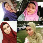 Gaya Siti Saleha Pakai Tudung Hijab