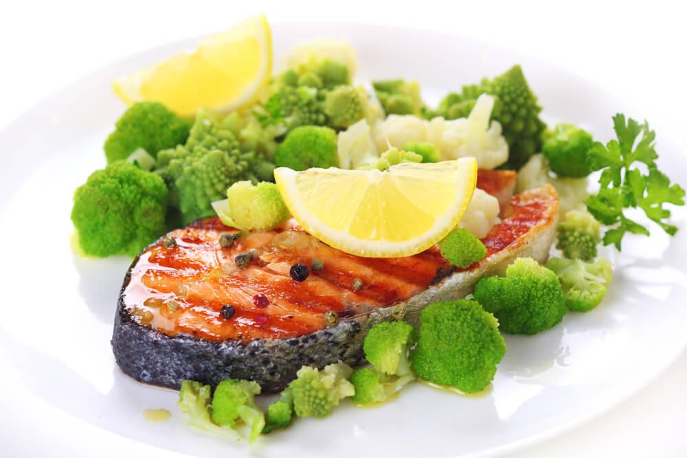 Hidangan Ikan Dan Sayur